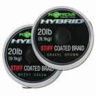 Korda NEW 20lb Hybrid Stiff Carp Fishing Coated Braid Hooklink 15m - All Models