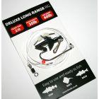Leeda Deluxe Long Range Rig 2/0 30lb hook 60lb Rig - 5 Pack