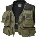 Wychwood Gorge All Weather Lightweight Multi Pocket Fly Fishing Vest - All Sizes