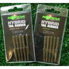 Korda Hybrid Tail Rubber - 10 Per Pack