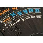 Korda Guru F1 Pellet Barbless PTFE Coated Spade Hooks Pack of 10 All Sizes