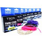 Map TKS Twin Core Hollow Fishing Elastics - All Colours & Sizes Available