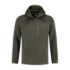 Korda Kore Polar Fleece Jacket Carp Fishing Green Fleece Zip Top *All Sizes*