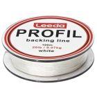 Leeda Profil Backing Line White 100m Spools 20lb Fly Fishing Backing Line