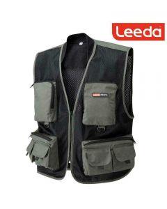 Leeda Profil Lightweight Multi Pocket Fly Fishing Vest Waistcoat - All Sizes