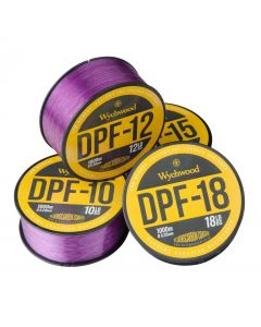 Wychwood Deep Purple DPF Carp Fishing Coated Fluoro Monofilament Mono Line 1000m