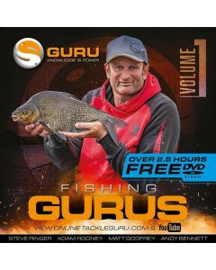 Korda Guru Fishing Gurus Volume 1 DVD Match Feeder Carp Fishing