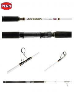 Penn Battalion Offshore Tuna Spin Heavy Action Saltwater Spinning Rod