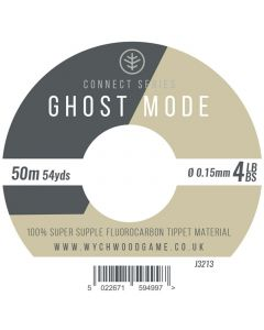 Wychwood Connect Series Ghost Mode Fluorocarbon 50m Tippet - 3 - 10lb - 10pk