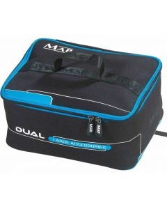 Map Dual Accessory Cases NEW Small / Large Storage Luggage Coarse Fishing