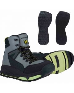 e System With Rubber & Felt Sole Wading Boot