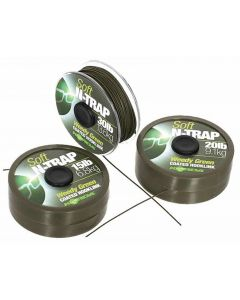 Korda N-Trap Soft Coated Carp Fishing Gravel Brown Braid Hooklink - All Sizes