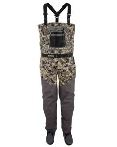 Hodgman Aesis Sonic Digi Camo Stocking Foot Breathable Fly Fishing Chest Waders
