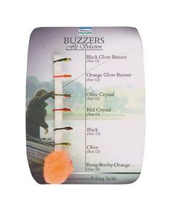 Shakespeare Sigma Fly Selection 7 Buzzers - Fishing Fly