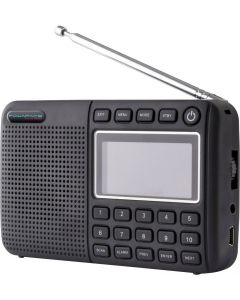 Powapacs New DAB+ Pro FM Rechargeable Digital & FM Radio Bluetooth Carp Fishing