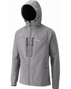 Wychwood DWR Soft Shell Front Zip Chest Pocket Grey Fishing Jacket - All Sizes