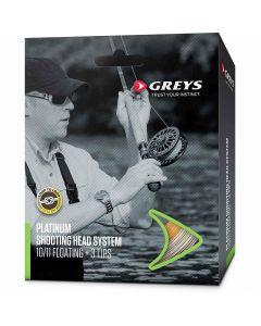 Greys New Platinum Float & Intermediate Shooting Head System Salmon Fly Line