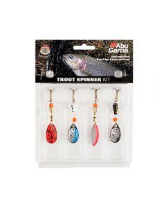 Abu Garcia Lure Kit - Trout Spinner 4 Pack - Fishing Lures