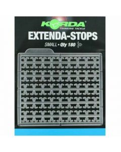 Korda Extenda Stops Clear - Coarse Fishing Boile Stops - Size Small
