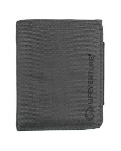 Lifeventure Unisex RFID Protected Tri-Fold Grey Wallet
