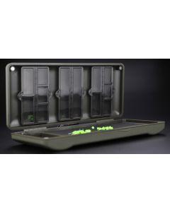 Korda Mini Combi Rigsafe Rig Safe Plastic Rig Magnetic Storage Box - KBOX4