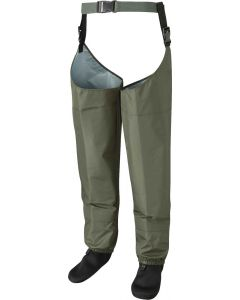 Leeda New Profil Stocking Foot Breathable Fly Fishing Thigh Waders - All Sizes