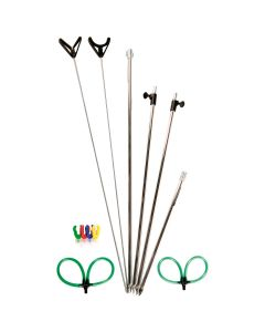 Shakespeare Bankstick Selection and Rod Rest Heads 1 Pack