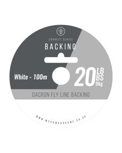 Wychwood Connect Series 20lb Backing - 20lb White / Orange Available