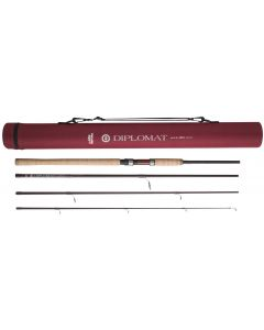 Abu Garcia 5 Piece Diplomat 1165ml Spin Spinning 11ft'6 Rod - Plus Cordura Tube