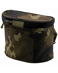 Korda Compac Boilie Caddy With Insert Camo Fishing Adjustable Strap Bait Bag