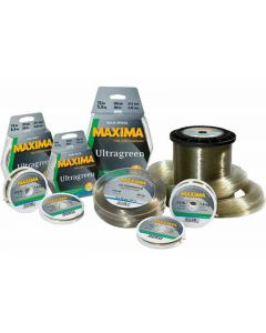 Maxima Chameleon 100M Spools Ultra Green Fishing Line - Complete Range Available