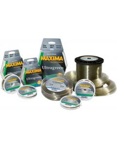 Maxima Chameleon 50M Spools Ultra Green Fishing Line - Complete Range Available