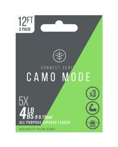 Wychwood Connect Series Camo Mode Tapered Leader 9ft - 4LB & 6LB Available