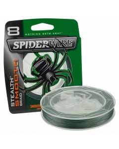 Spiderwire Superline Stealth Smooth 8 3000m Moss Green Braid Fishing Line