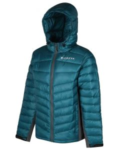 Greys New Showerproof Insulated Micro Quilt Carbon / Petrol Fishing Jacket