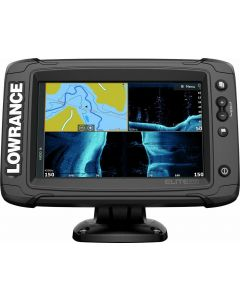 Lowrance New Elite 7Ti2 Active Imaging 3 In 1 Fishfinder Fishing Echo Sounder