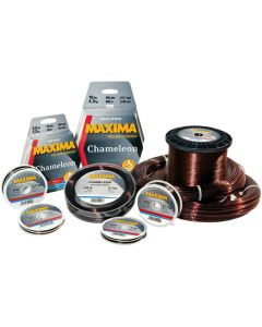 Maxima Chameleon 50M Spools Brown Fishing Line - Complete Range Available