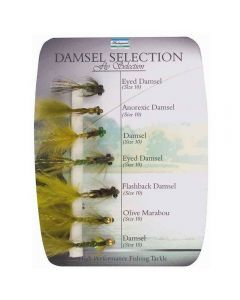 Shakespeare Sigma Fly Selection 4 Damsel 7 Pack - Fishing Fly