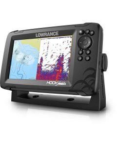 Lowrance New Hook Reveal 7 50/200 Fishfinder Autotuning Sonar / Chartplotter