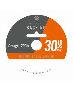 Wychwood Connect Series 30lb Backing - 30lb White / Orange Available
