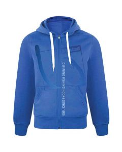 Mustad Pro Wear Casual Blue Full Zip Hoody / Hoodie - All Sizes