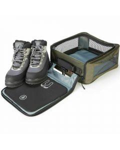 Wychwood New Walking Wading Boot Safe Storage Changing Fishing Bag