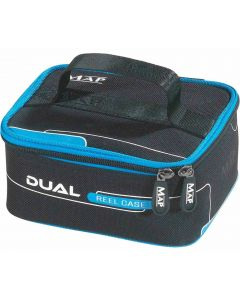 Map Dual Reel Case New Padded Carry Handle Reel Storage Fly Fishing Case