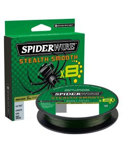 Spiderwire Stealth Smooth 8 Moss Green Braid 300m All Sizes Braided Fishing Line
