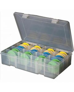 Leeda Rig Storage Box With 24 Foam Winders / Accessories / Sea Fishing