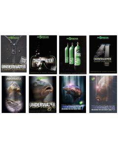 Korda SOTA Underwater Carp Fishing DVD All Parts 1, 2, 3, 4, 5, 6, 7, 8