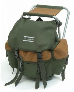 Shakespeare Folding Stool With Rucksack Backpack Fishing Storage Luggage Chair