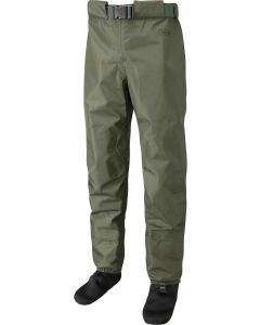 Leeda New Profil Stocking Foot Breathable Fly Fishing Waist Waders - All Sizes