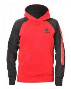 Guru Gamma Red Clothing Coarse Carp Double Hood Fishing Hoodie - All Sizes