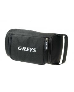 Greys Zipped Robust Black Fly Fishing Reel Case - Holds Up to 4 Reels